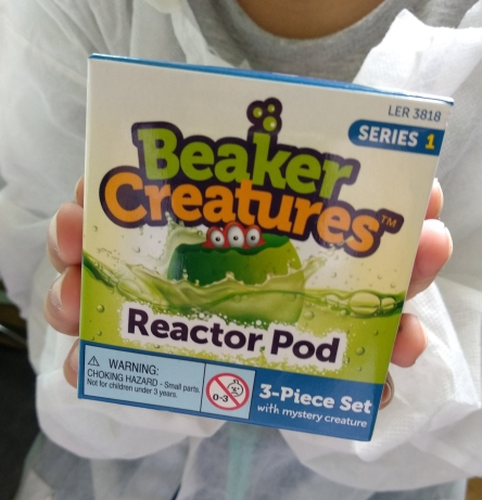 reactor pod beaker creatures learning resources